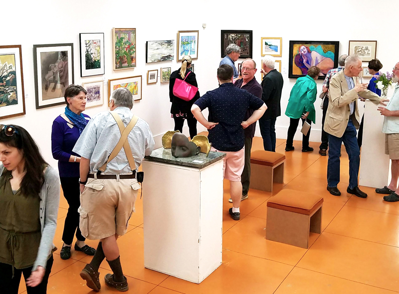 Video Opening Exhibitions At Barn Gallery Ogunquit Art